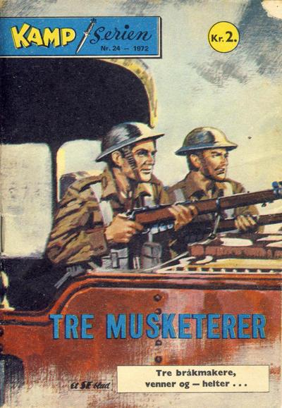 Cover for Kamp-serien (Serieforlaget / Se-Bladene / Stabenfeldt, 1964 series) #24/1972