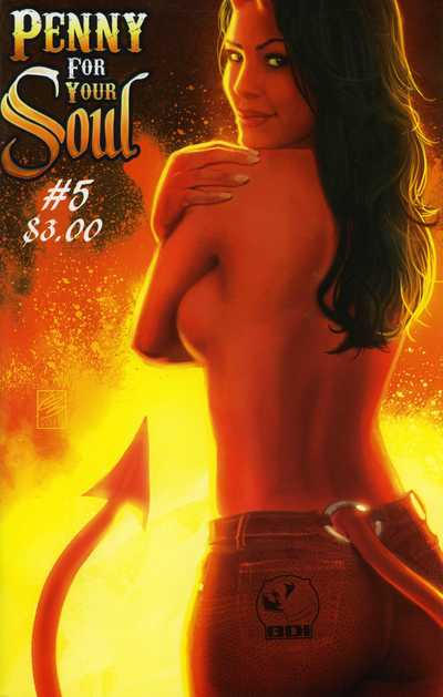 Cover for Penny for Your Soul (Big Dog Ink, 2010 series) #5 [Cover B]