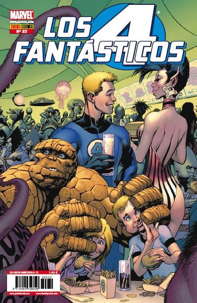 Cover for Los 4 Fantásticos (Panini España, 2008 series) #32