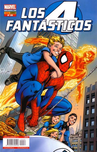 Cover for Los 4 Fantásticos (Panini España, 2008 series) #33