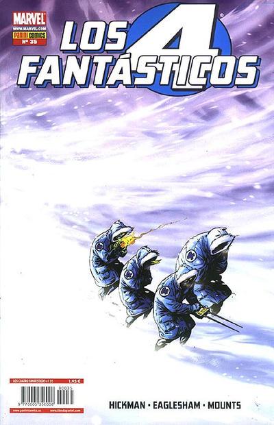 Cover for Los 4 Fantásticos (Panini España, 2008 series) #35
