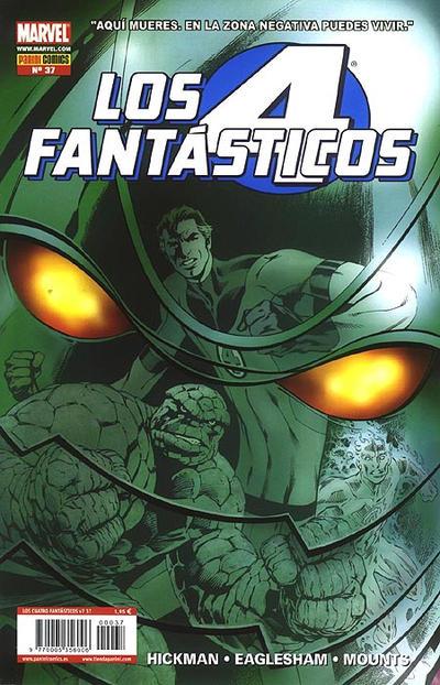 Cover for Los 4 Fantásticos (Panini España, 2008 series) #37