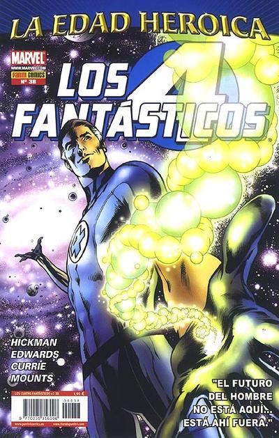 Cover for Los 4 Fantásticos (Panini España, 2008 series) #38