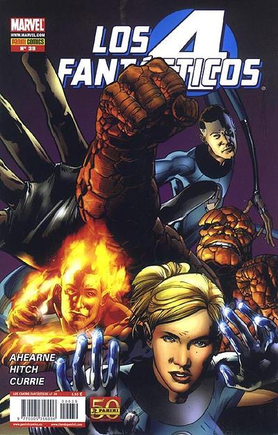 Cover for Los 4 Fantásticos (Panini España, 2008 series) #39
