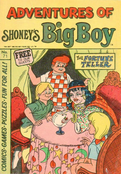 Cover for Adventures of Big Boy (Paragon Products, 1976 series) #71