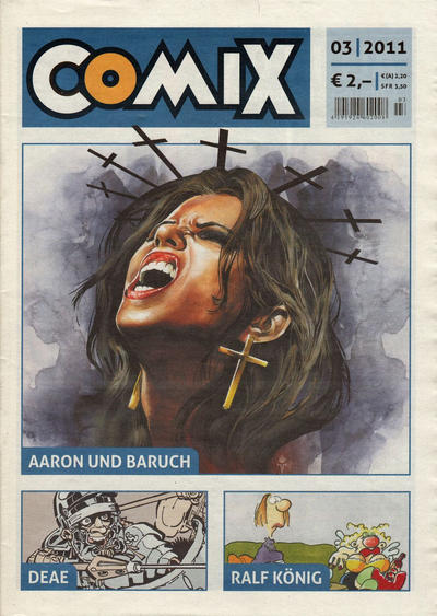 Cover for Comix (JNK, 2010 series) #3/2011