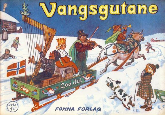 Cover for Vangsgutane (Fonna Forlag, 1941 series) #1985