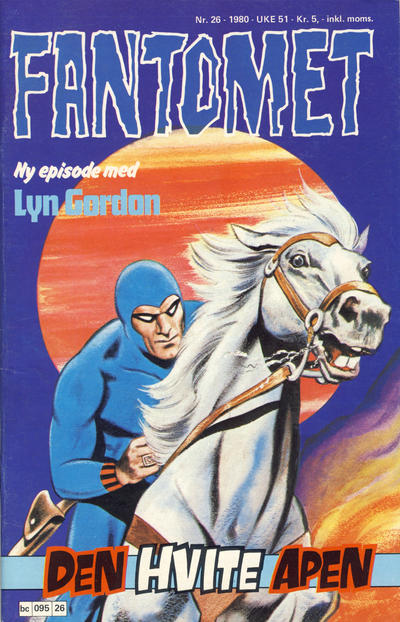 Cover for Fantomet (Semic, 1976 series) #26/1980