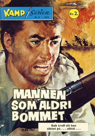 Cover for Kamp-serien (Serieforlaget / Se-Bladene / Stabenfeldt, 1964 series) #9/1972