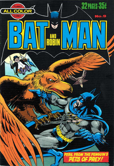Cover for Batman and Robin (K. G. Murray, 1976 series) #9
