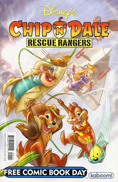Cover for Chip 'n' Dale Rescue Rangers Free Comic Book Day Edition / Darkwing Duck Free Comic Book Day Edition [Flipbook] (Boom! Studios, 2011 series) #[nn]