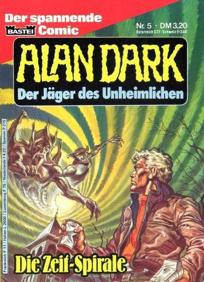 Cover for Alan Dark (Bastei Verlag, 1983 series) #5