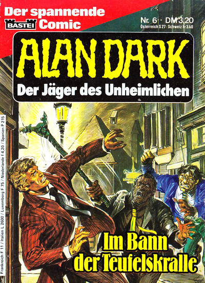 Cover for Alan Dark (Bastei Verlag, 1983 series) #6