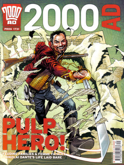 Cover for 2000 AD (Rebellion, 2001 series) #1731
