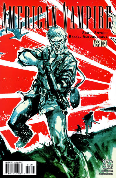 Cover for American Vampire (DC, 2010 series) #14