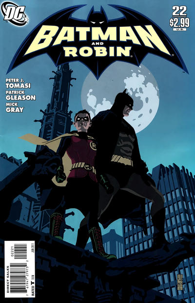 Cover for Batman and Robin (DC, 2009 series) #22 [J. G. Jones Variant Cover]