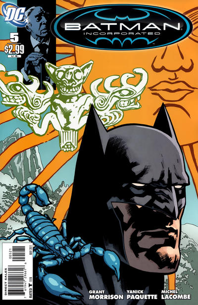 Cover for Batman, Inc. (DC, 2011 series) #5