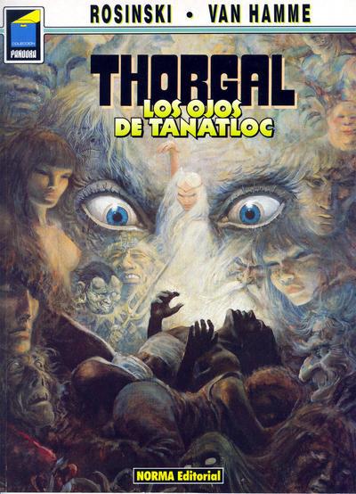 Cover for Pandora (NORMA Editorial, 1989 series) #9 - Thorgal. Los ojos de Tanatloc