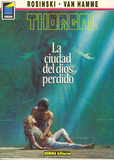 Cover for Pandora (NORMA Editorial, 1989 series) #12 - Thorgal. La ciudad del dios perdido