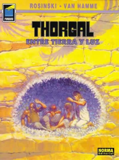 Cover for Pandora (NORMA Editorial, 1989 series) #15 - Thorgal. Entre tierra y luz