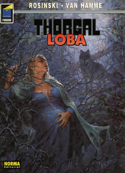 Cover for Pandora (NORMA Editorial, 1989 series) #26 - Thorgal: Loba