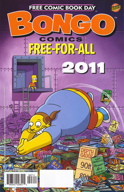 Cover for Bongo Comics Free-for-All! (Bongo, 2007 series) #[2011]
