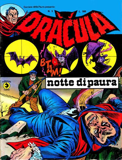 Cover for Corriere della Paura Presenta Dracula (Editoriale Corno, 1976 series) #3