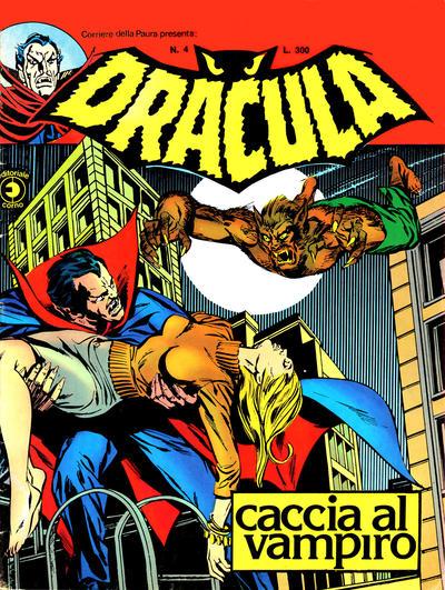 Cover for Corriere della Paura Presenta Dracula (Editoriale Corno, 1976 series) #4