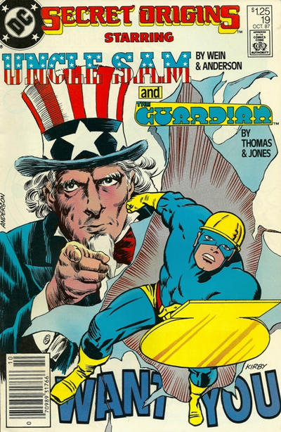 Cover for Secret Origins (DC, 1986 series) #19 [Newsstand]