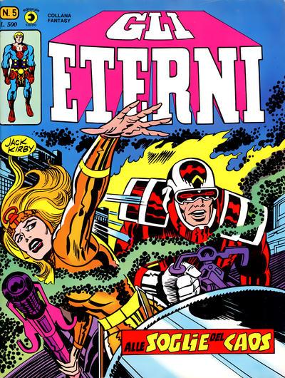 Cover for Gli Eterni (Editoriale Corno, 1978 series) #5