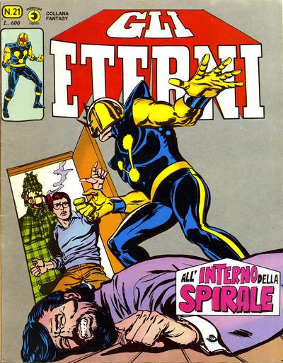 Cover for Gli Eterni (Editoriale Corno, 1978 series) #21