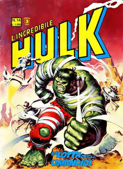 Cover for L'Incredibile Hulk (Editoriale Corno, 1980 series) #14