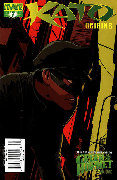 Cover for Kato Origins (Dynamite Entertainment, 2010 series) #7 [Francesco Francavilla Cover]
