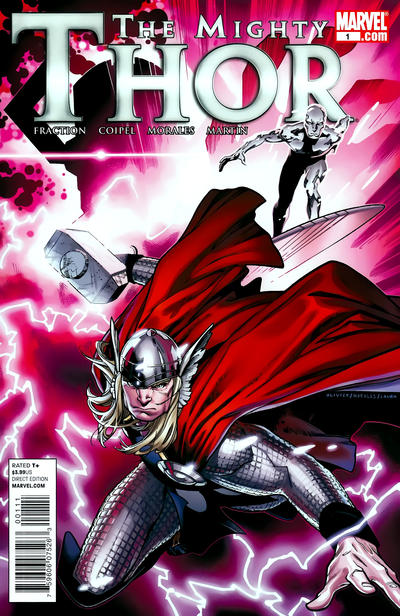 Cover for The Mighty Thor (Marvel, 2011 series) #1 [Variant Edition - Thor Movie Direct Edition]