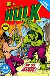 Cover for L'Incredibile Hulk (Editoriale Corno, 1980 series) #33