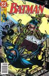Cover for Batman (DC, 1940 series) #490 [Newsstand]
