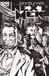 Cover Thumbnail for John Byrne's Next Men (2010 series) #6 [RI Cover]