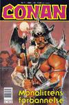 Cover for Conan (Bladkompaniet / Schibsted, 1990 series) #7/1991