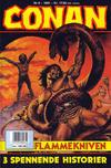 Cover for Conan (Bladkompaniet / Schibsted, 1990 series) #8/1991