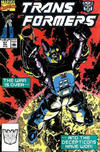 Cover for The Transformers (Marvel, 1984 series) #67 [Direct Edition]