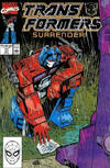 Cover for The Transformers (Marvel, 1984 series) #71 [Direct Edition]
