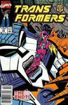 Cover for The Transformers (Marvel, 1984 series) #75 [Newsstand Edition]