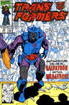 Cover for The Transformers (Marvel, 1984 series) #78 [Direct Edition]