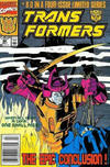 Cover for The Transformers (Marvel, 1984 series) #80 [Newsstand Edition]