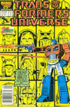 Cover for The Transformers Universe (Marvel, 1986 series) #2 [Newsstand Edition]