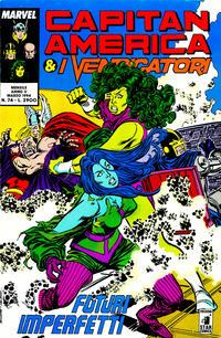 Cover Thumbnail for Capitan America & i Vendicatori (Edizioni Star Comics, 1990 series) #74