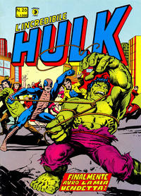 Cover Thumbnail for L'Incredibile Hulk (Editoriale Corno, 1980 series) #26