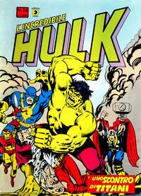 Cover Thumbnail for L'Incredibile Hulk (Editoriale Corno, 1980 series) #28