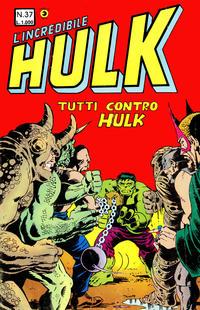 Cover Thumbnail for L'Incredibile Hulk (Editoriale Corno, 1980 series) #37
