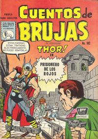 Cover Thumbnail for Cuentos de Brujas (Editora de Periódicos La Prensa S.C.L., 1951 series) #182